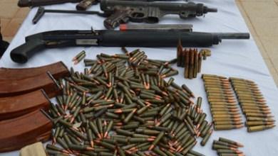 صورة الجزائر:  القبض على 5 ليبيين بحوزتهم أسلحة