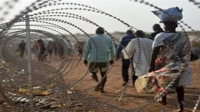 صورة القبض علــى  15سودانيًا  حاولو التسلل إلى إسرائيل