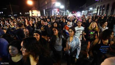 صورة أمريكا : إحتجاجات ودعوات لإنفصال كاليفورنيا بعد فوز ترامب