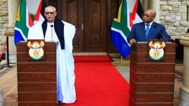 صورة رئيس جنوب إفريقيا : ليس من المعقول أن تبقى الصحراء الغربية مستعمرة