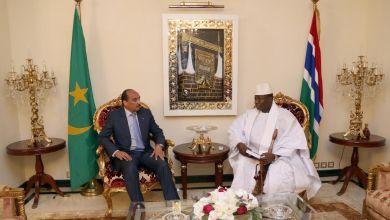 صورة عاجل / عزيز يغادر اليوم  إلى غامبيا لإصطحاب جامى إلى نواكشوط