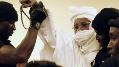 صورة دكـار : تثبيت الحكم بالسجن المؤبد على الرئيس التشادي الأسبق حسين حبري