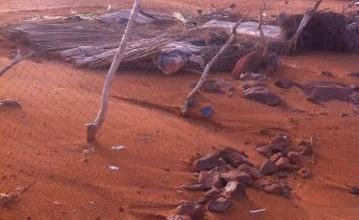 صورة موريتانيا: خسائر مادية جراء عاصفة ضربت شمال البلاد