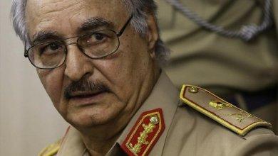 صورة خليفة حفتر: هزمنا الإرهاب بالسلاح