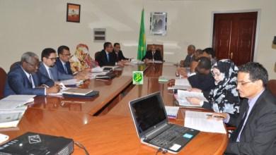 صورة موريتانيا: لقاء تحضيري للجنة المكلفة بالمصادقة على استراتيجية النمو المتسارع