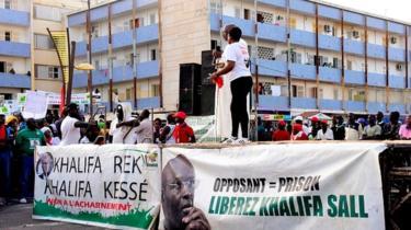 صورة السنغال:مطالب بالإفراج عن عمدة دكار