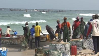 صورة إصابة صياد سنغالي بطلق ناري موريتاني