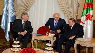 صورة الجزائر: بوتفليقة يستقبل المبعوث الأممي الى الصحراء الغربية