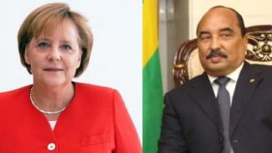 صورة موريتانيا تعرب عن استعدادها للتعاون مع ألمانيا من خلال برقيتين منفصلتين