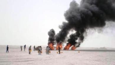 صورة موريتانيا: إتلاف 150 كيلوغرام من المخدرات شمال العاصمة