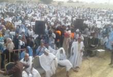 """صورة مهرجان جماهيري ل""""النصرة"""" في نواكشوط والشرطة تطارد محتجين على هامشه"""