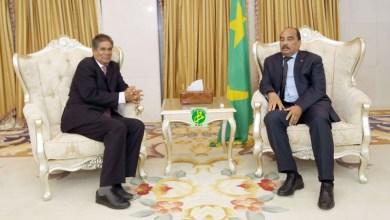صورة موريتانيا: الرئيس يستقبل مبعوثا خاصا من نظيره الصحراوي