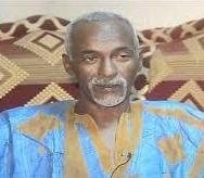صورة الإعلان في نواكشوط عن وفاة الأديب والإعلامي محمد فاضل ولد عبد الدايم