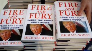 """صورة كتاب """"نار وغضب"""" عن ترامب سيتحول قريبا إلى مسلسل تلفزيوني"""
