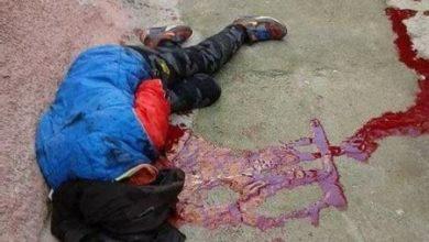 صورة لعصابة : جريمة قتل بشعة في بلدية الغايرة
