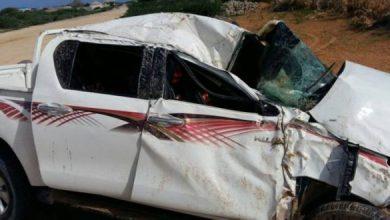 صورة إصابة 4 أشخاص في حادث سير مروع بولاية كوركل