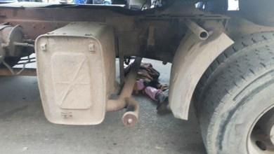 صورة وفاة متسولة تحت عجلات شاحنة دهستها في مقاطعة لكصر بولاية نواكشوط الغربية