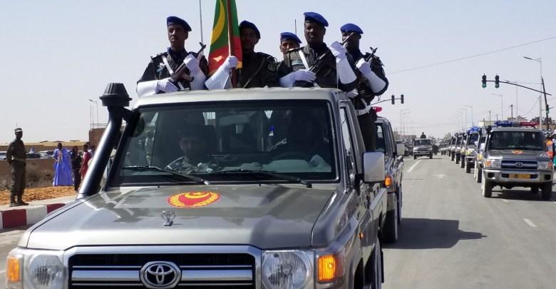 أكجوجت: وحدات من الحرس الوطني تصل تحضيرا لاحتفالية عيد الاستقلال