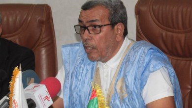 صورة انتخاب أحمد باب ولد اعلي رئيسا لمنطقة شمال إفريقيا بالمؤتمر الدائم للغرف الإفريقية