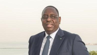 صورة ماكي صال رئيسا للسينغال بعد فوزه في الجولة الأولى بنسبة 58%