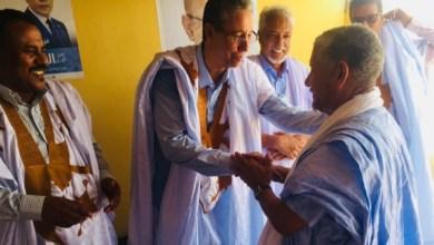 صورة نائب مقاطعة لعيون د/ عمار أحمد سعيد  ينظم لقاءا للمنتخبين والأطر والفاعلين السياسيين بمقر حملته
