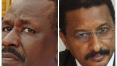 صورة نواكشوط : هجوم على سهرة إنتخاببة يجبر الوزيرين با عصمان والمدير ولد بونه على الفرار عن سيارتيهما
