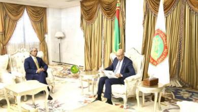 صورة وزير الخارجية الصحراوي: موريتانيا والصحراء بلدان يقطنهما شعب واحد