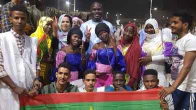 صورة رئيس شباب كيهيدي رجل الأعمال دمب سيمكا يشارك في الإحتفالات المخلدة لذكر عيد الإستقلال الوطني بأكجوجت