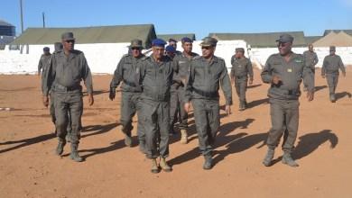 صورة الجنرال مسقارو يتفقد وحدات الحرس على الحدود مع مالي لمكافحة كورونا ..(تقرير )