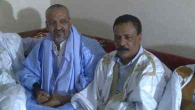 صورة ابرز أقارب ولد عبد العزيز يجددون دعمهم لولد الغزواني