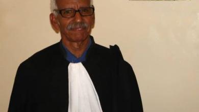 صورة أبراهيم ولد أبتي نقيبا للمحامين الموريتانيين