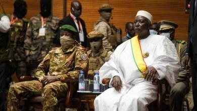 صورة باماكو : الرئيس الإنتقالي يؤدى اليمين رئيسا للبلاد