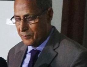 صورة الإعلان عن وفاة رئيس المجلس الجهوي لولاية إنشيري