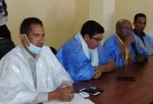 صورة حاكم مقاطعة أمبود يعقد إجتماعا  بمنتخبي وأطر المقاطعة لتحضير زيارة الرئيس