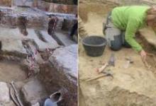 صورة العثور  على 400 قبر لمسلمي الأندلس قبل 1300 عام في اسبانيا