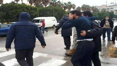 صورة المغرب : الشرطة تقمع وقفة منددة بالتطبيع مع اسرائيل