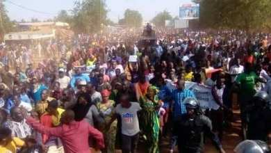 صورة السلطات المالية تمنع مظاهرة ضد الوجود الفرنسي في البلاد
