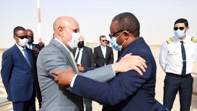 صورة رئيس غينيا بيساو يجري توقفا في نواكشوط