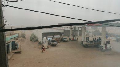 صورة عواصف تحجب الرؤية في تسع ولايات موريتانيا..