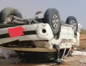 صورة أركيز :حادث سير خلال إستقبال بعثة حزب الإتحاد من أجل الجمهورية