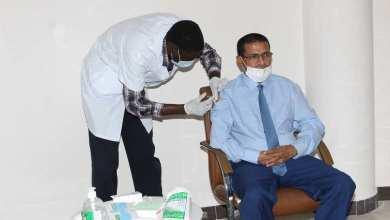 صورة وزارة الصحة الموريتانية : تم تلقيح 4561 شخصا ضد فيروس كورونا