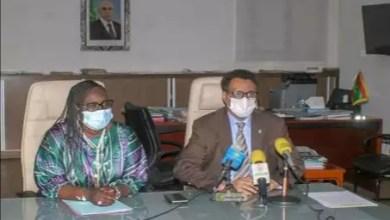 صورة اجتماع لمتابعة تنمية حقل الغاز المشترك بين موريتانيا والسنغال في دكار