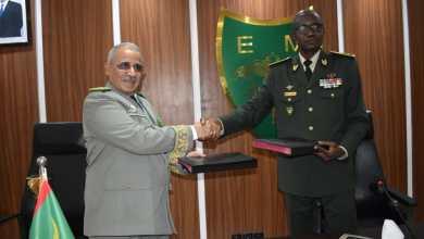 صورة اتفاق موريتاني سنغالي على تعزيز التعاون العسكري والأمني