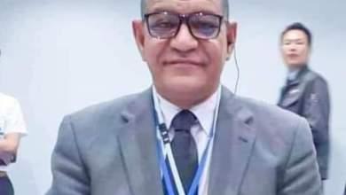 صورة أحمـد طالب  ولد المعلوم نقبيا للصحفيين الموريتانيين