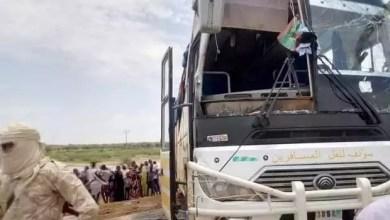 صورة بوكى :حادث سير مروع لحافلة ركاب تابعة لشـركة سونف