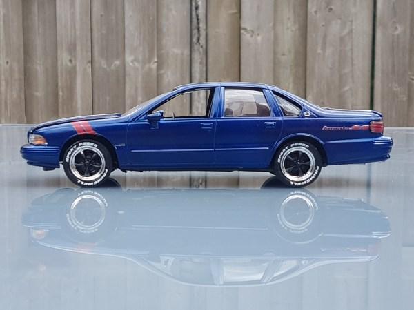 1996 Chevrolet Impala Ss Grand Sport Revell Rays Kits