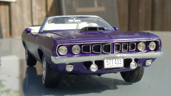 Revell 71 Cuda Convertible - Year of Clean Water