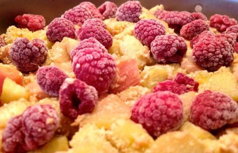 IMG_4158 Himbeer-Rhabarber-Baiser-Torte