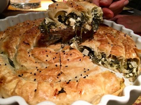Schnecken-Boerek mit Schafskaese Spinat Filoteig IMG_3078