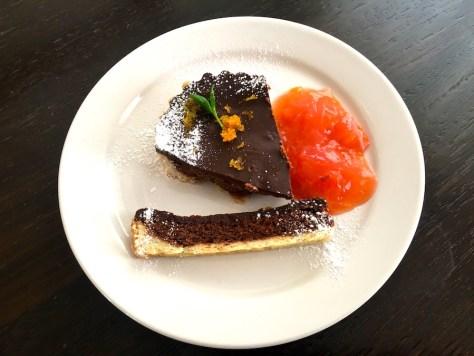 Schokoladen Tarte mit Blutorange Muerbeteig Dessert IMG_7717